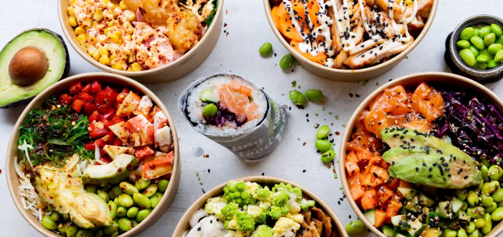 Poke bowl Amsterdam-West mix